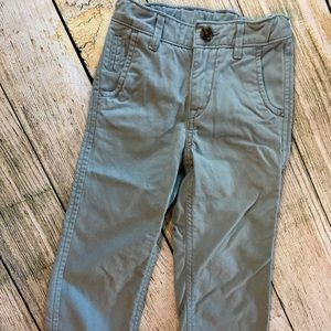 Gap boys grey chino pants sz3